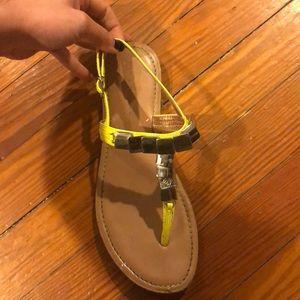 BCBG Neon Sandals